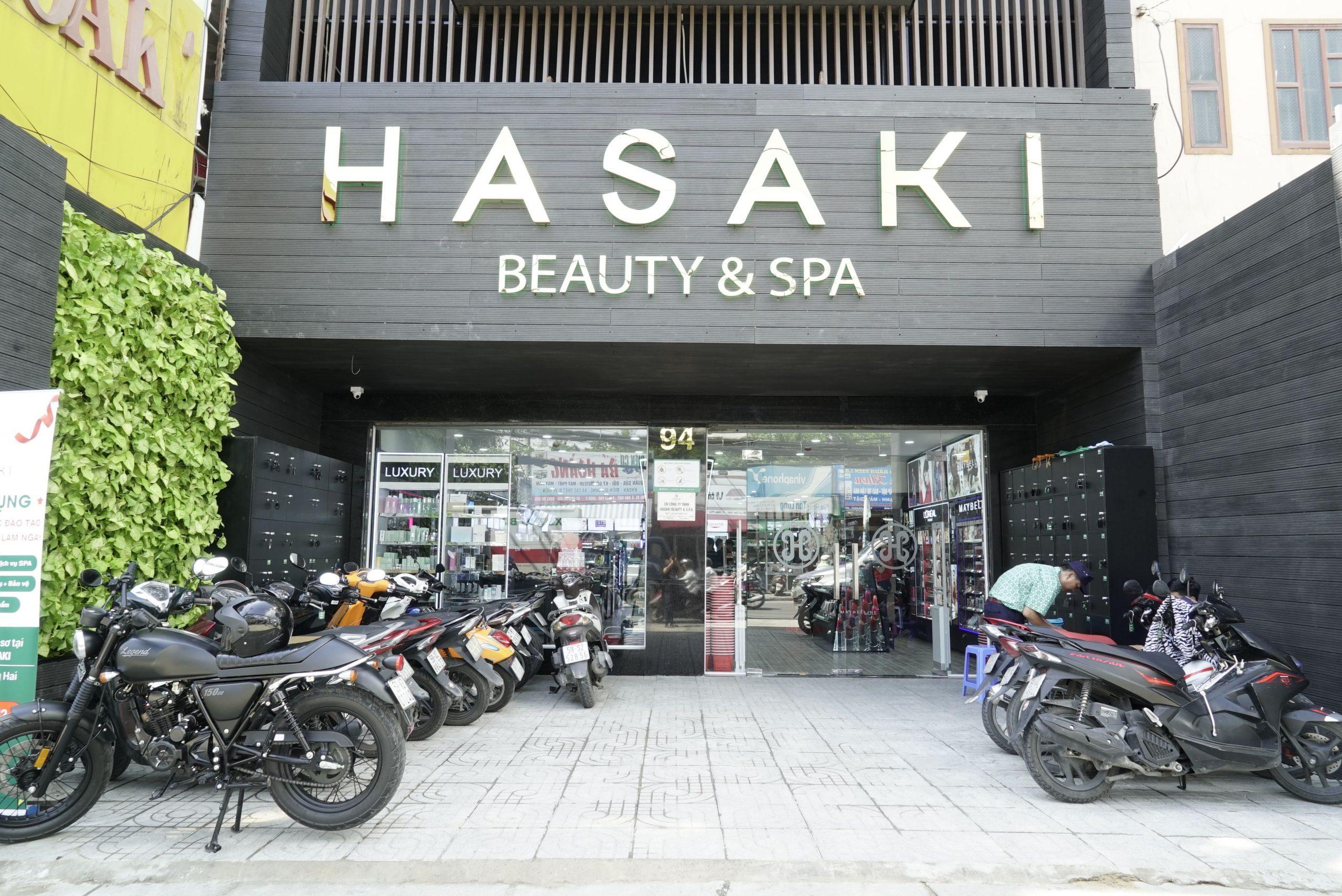 Giới thiệu về thương hiệu Hasaki