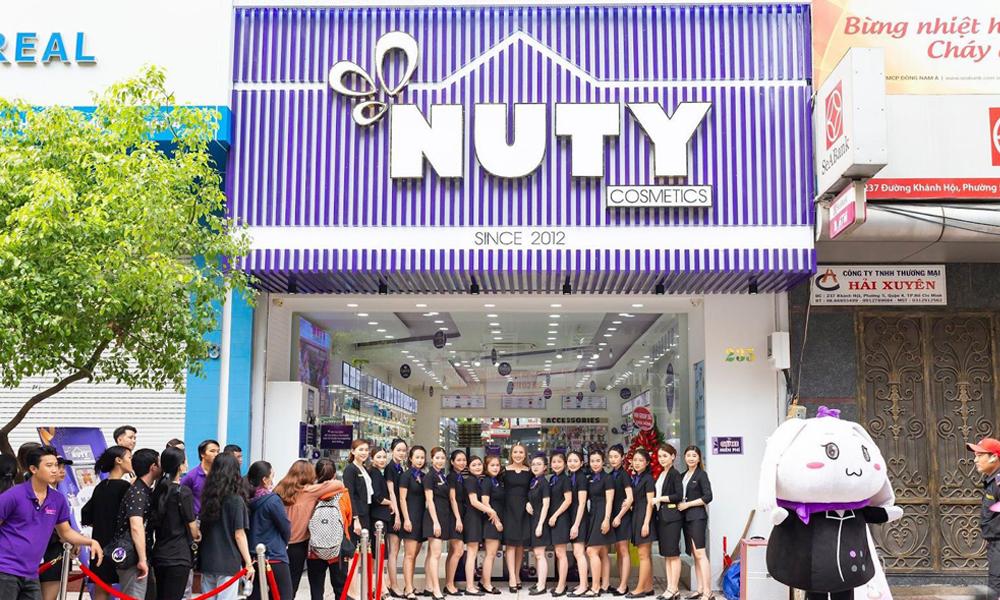 Giới thiệu về thương hiệu mỹ phẩm Nuty Cosmetics